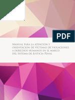 Cmdpdh Manual Para La Atencion y Orientacion de Victimas de Violaciones a Derechos Humanos