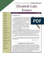 ELECA Newsletter, April 2008