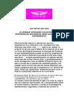 41-PORQUE DESEAMOS SOLUCIONAR LAS EXPERIENCIAS DOLOROSAS PARA SALVARNOS DEL SUFRIMIENTO?