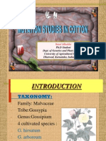 Mutation Breeding of Cotton by yanal alkuddsi