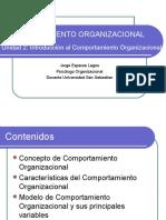 Comportamiento Organizacional (Unidad 2)