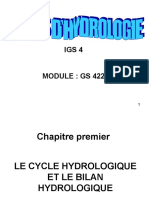 Cours Hydrologie IGS4