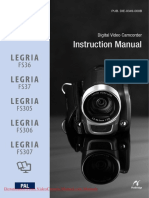 Canon Legria Fs307 User Guide