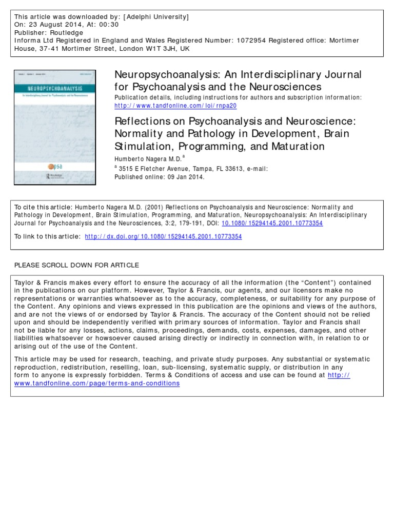 3 reflections on psychoanalysis and neuroscience normality and 3 reflections on psychoanalysis and neuroscience normality and pathology in development brain stimulation programming and maturation visual system malvernweather