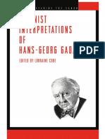 Feminist Interpretations of Hans-Georg Gadamer