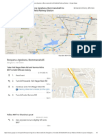 Roopena Agrahara, Bommanahalli to Whitefield Railway Station - Google Maps