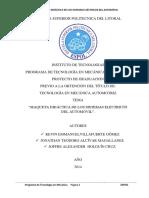 Tesis de Grado- Maqueta Didactica de Los Sistemas Electricos Del Automovil
