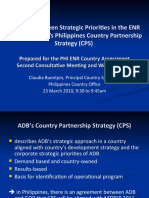 C. Buentjen - ENR Sector and ADB CPS