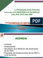 FESP Colombia Regional Cali