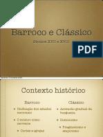 5 Barroco e Clc3a1ssico
