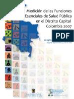 FESP Experiencia SubNacional Colombia-Bogota 2007