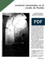 Parasitosis en Puebla