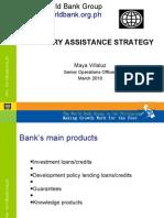 M. Villaluz - Country Assistance Strategy 23 Mar 10