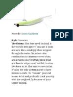 Flyfishing Lure