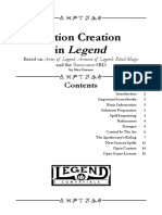 Potion Creation in Legend