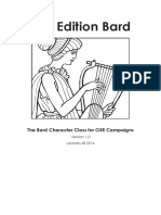 First Edition Bard 1.1