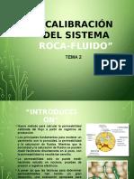Calibración Del Sistema Roca-Fluido Expo'Petrofisica