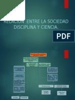 Relación Entre La Sociedad Disciplina y Ciencia.