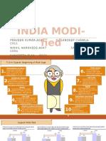 India MODI-fied