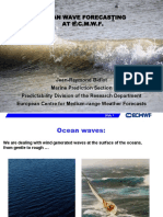 Ocean Wave Forecasting at Ecmwf Version 201402