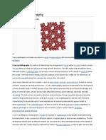X Ray Crystallography.
