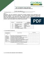 12-Ojt Student Evaluation