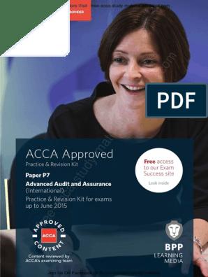 P7 Revision Kit | Audit | Financial Audit