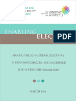 Enabling Elections 2014