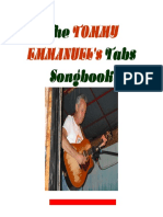 Tommy Emmanuel's Tabs Songbook