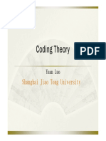 Coding Theory Course 1_block Code and Finite Field
