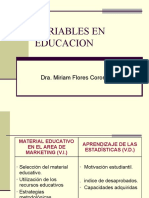 VARIABLES EN EDUCACION.ppt