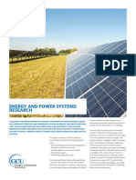 Energy and Power Systems Research