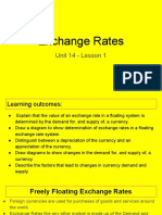 unit 14 - lesson 1 - exchange rates