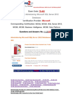 [100% PASS]Braindump2go Latest 70-462 PDF Free 11-20