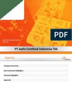 9M15 Tbk Investors Presentation - JPFA