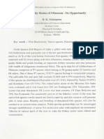 Fish Biodiversity Status of Mizoram- Its Opportunity