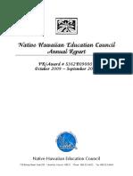NHEC 2009-2010 Annual Report