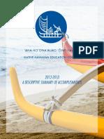 NHEC 2012-2013 Annual Report