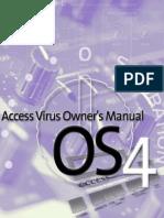 Acces Virus B Owner's Manual Addendum