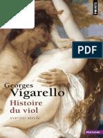 Histoire Du Viol - Georges Vigarello