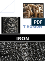 Iron and Thorium