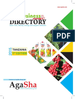 Tanzania Agribusiness Directory 2015 by AgaSha