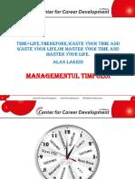 Time Management -Curs