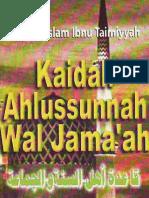 ibnu taimiyah - kaidah ahlusunnah wal jama'ah