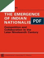 the Emergence of Indian Nationalism
