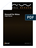 Maxwell for Rhino