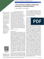 Biologic and Oral Disease-modifying Antirheumatic
