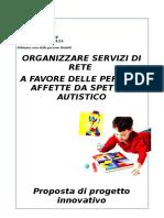 Progetto Organizzazione Servizi Rete - Regione 130620