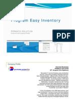 Proposal Sistem Informasi Stok - Penawaran Easy Inventory