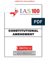 Constitutional Amendment[Www.qmaths.in]